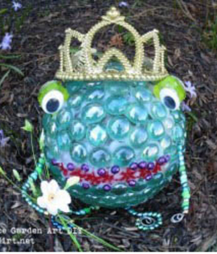 Frog Prince for indoors or outdoors.