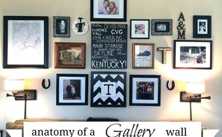 simple tips for a diy gallery wall, home decor, wall decor, I ended up with a gallery I love and that reflects who we are as a family