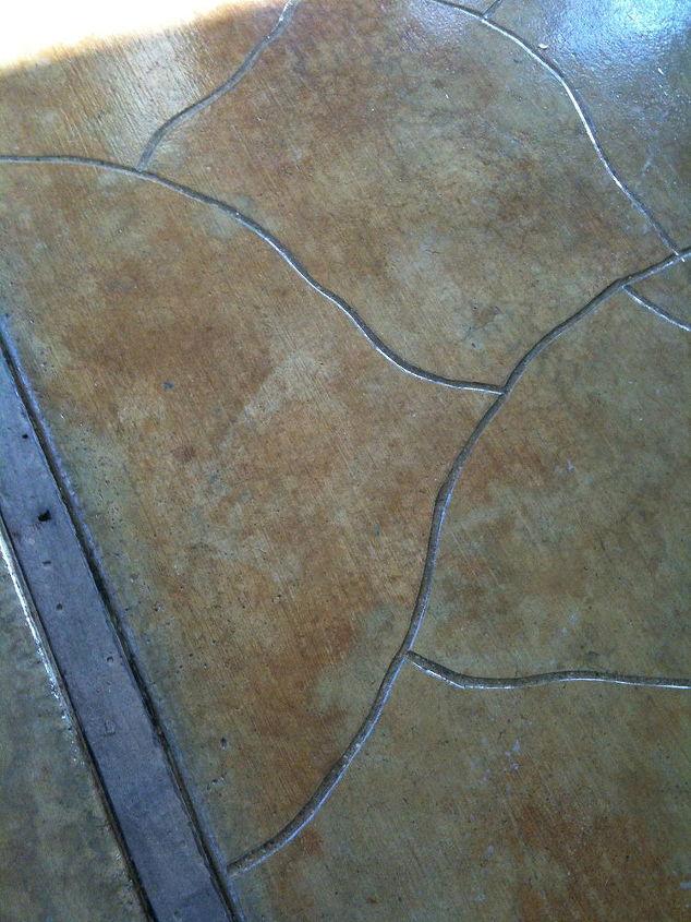 staining a concrete patio, concrete masonry