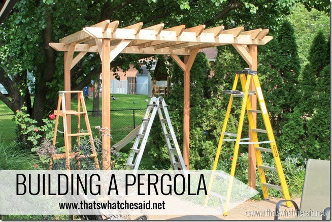 diy weekend pergola project, diy, outdoor living, woodworking projects, Make  your own - DIY Weekend Pergola Project Hometalk