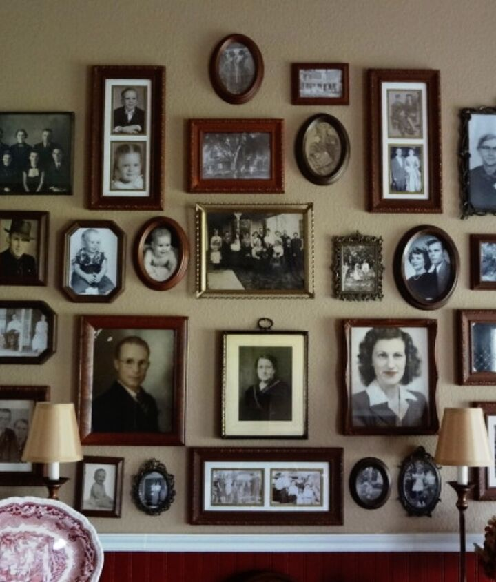 bringing out the ancestors, dining room ideas, home decor