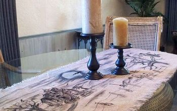 Spooky Burlap Table Runner #Halloween