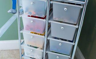 lego storage organization, entertainment rec rooms, organizing, storage ideas, Rolling Lego storage cart