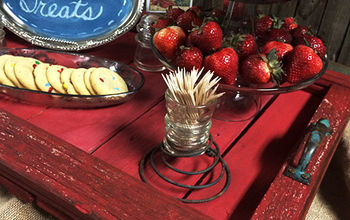 Creative, DIY Memorial Day/4th od July Tablescape