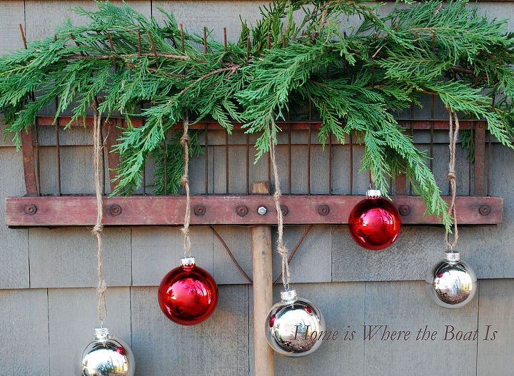 jumping in with both feet to the christmas season, christmas decorations, outdoor living, seasonal holiday decor