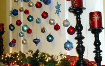 magical christmas mantel idea, christmas decorations, seasonal holiday decor