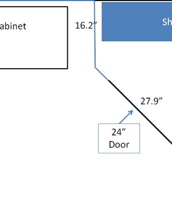 Pantry plans drawn up on PowerPoint