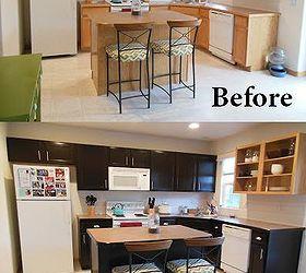 Gel Stained Kitchen Cabinets | Hometalk