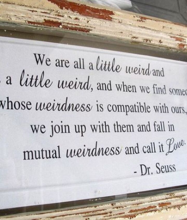 No one is better suited to be quoted on our display more so than the loveable Dr. Seuss!!