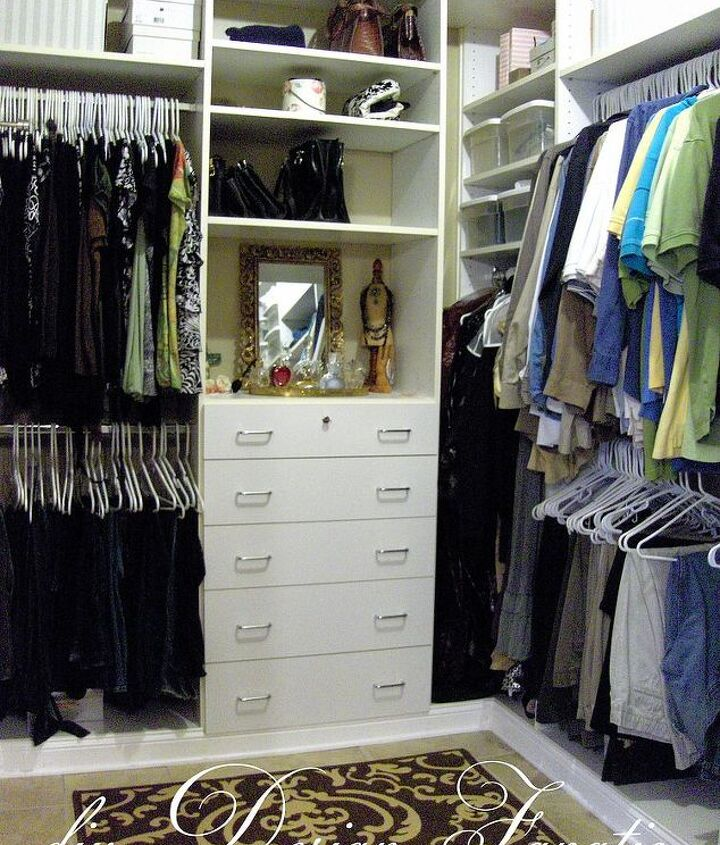The view as you step into our closet