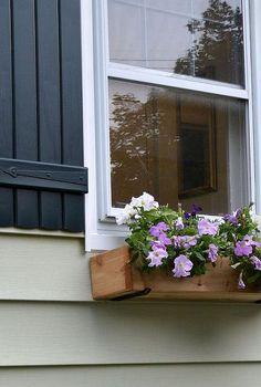 easy and quick diy window box, diy, gardening, windows