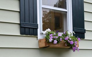 easy and quick diy window box, diy, gardening, windows