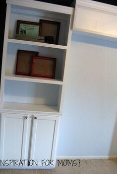 diy built in bookshelves, diy, shelving ideas, storage ideas