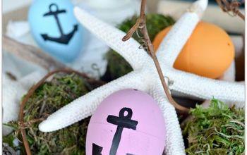 Nautical Easter Eggs