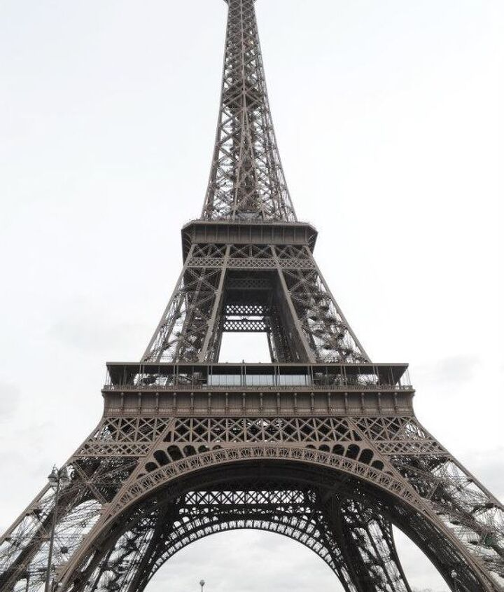 This was my first time in Paris and seeing the Eiffel Tower. It was really so beautiful and amazing and much taller than I thought it would be. The architecture is really something else, I never wanted to turn away from it. Hope I get to go back!