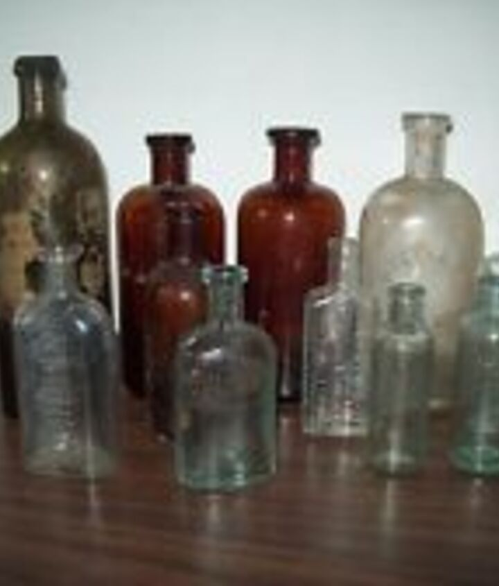 q where would be a location to buy bottles like the ones shown in bulk, crafts, repurposing upcycling