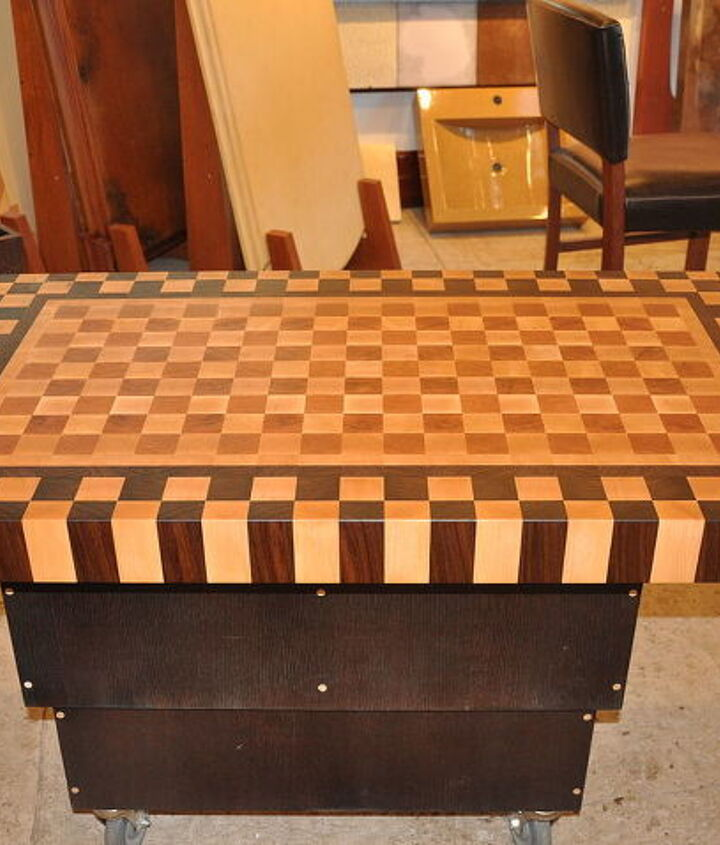end grain butcher block although we work with all alternative materials wood is, painted furniture