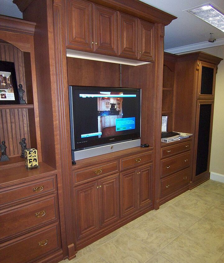 A Custom Designed Entertainment Center