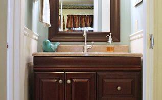 sharing pics from my parent s 1970 s bathroom renovation vanity countertop faucet, bathroom ideas, home decor, New Vanity