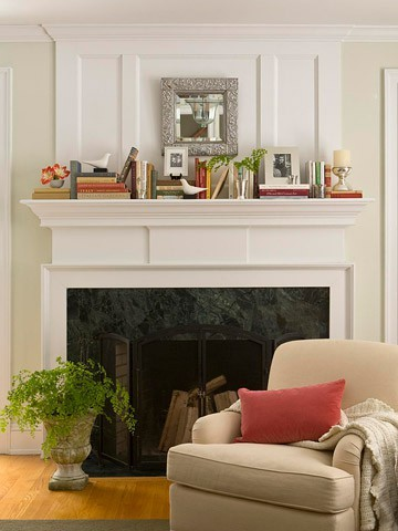25 ways to decorate or stage a home with books, fireplaces mantels, home decor, real estate, Decorating a Mantle with Books