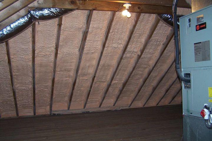 crawl space insulation, garages, hvac