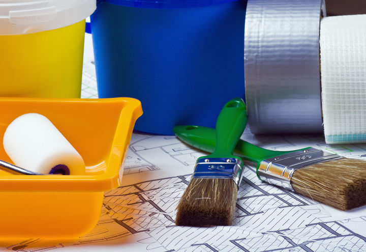 using primers before you paint, painting