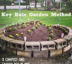 Keyhole Garden Bed Method A Compost And In One Composting Gardening
