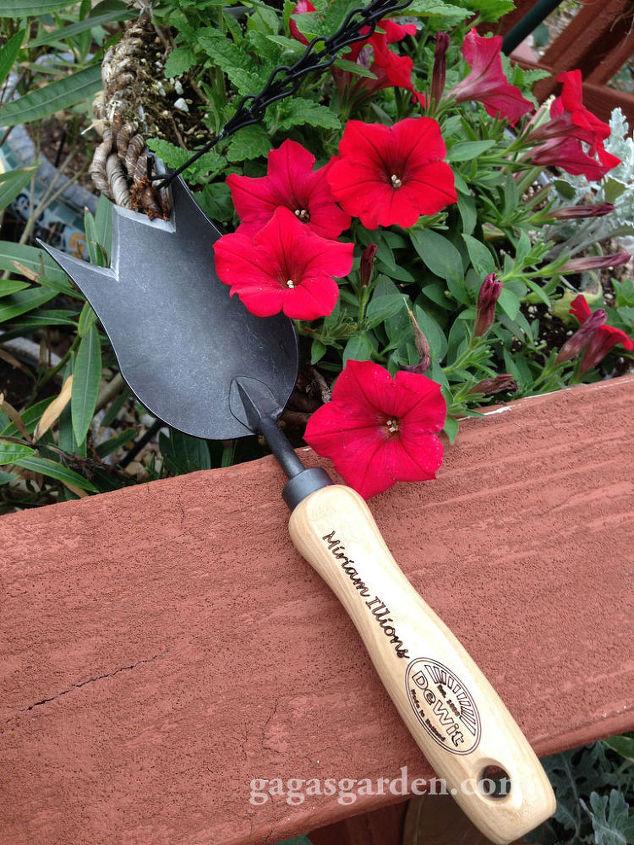 DeWit Tulip Trowel Digging Fork Essential
