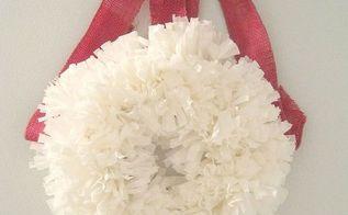 diy pom pom wreath, crafts, doors, easter decorations, seasonal holiday decor, wreaths