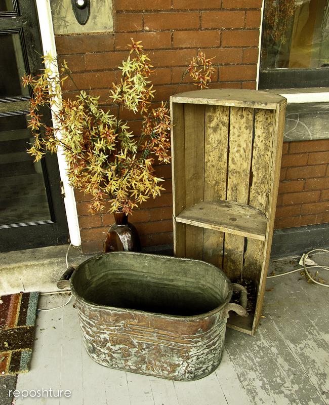 how to build a porch vignette, home decor, porches