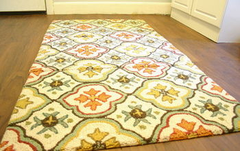 how to sew rugs together