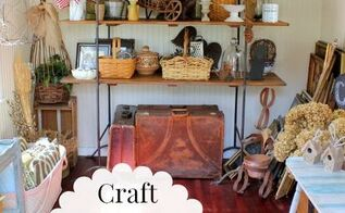 craft shed organization, craft rooms, home decor