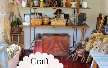Craft Shed Organization