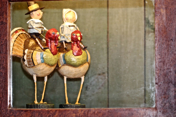 Pilgrim Fraternal Twins Turkey-Back Riding View Three