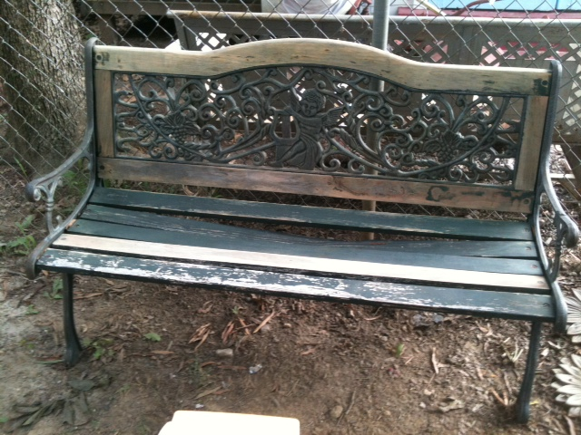 Old Bench Picture 1