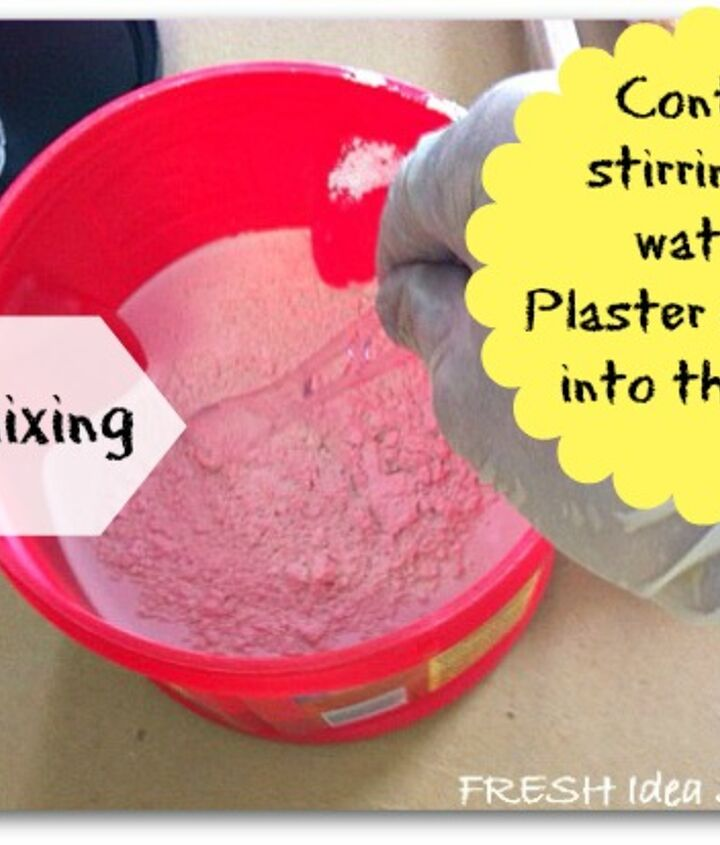 Keep repeating that process until you like the consistency of your DIY paint