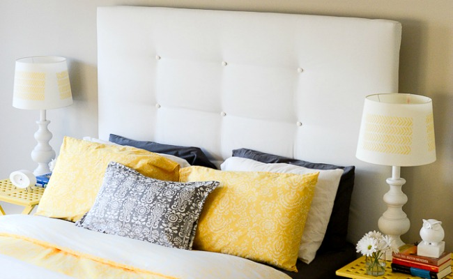 Upholstered Headboard Ikea Malm Hack Bedroom Ideas Diy Home Decor Painted Furniture
