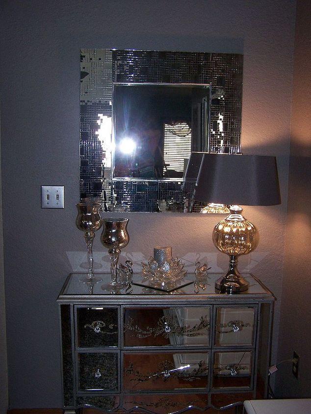 Mirrored chest