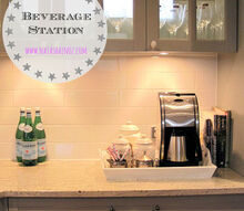 decorating our new beverage station, home decor, kitchen design, Via Natasha in Oz