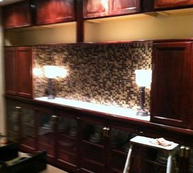 Dining Room Mirrors Down New Wall Unit Done And I Love It, Dining Room Ideas