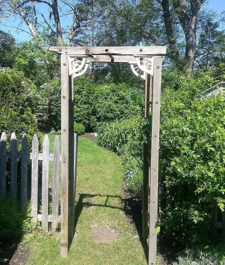 This is the trellis.  Process follows....
