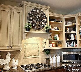 Ordinaire Creating A French Country Kitchen Cabinet Finish Using Chalk Paint, Chalk  Paint, Kitchen Backsplash