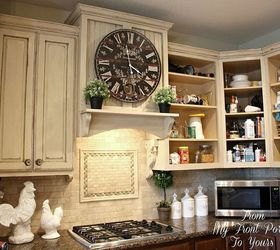 creating a french country kitchen cabinet finish using chalk paint chalk paint kitchen backsplash creating a french country kitchen cabinet finish using chalk paint      rh   hometalk com