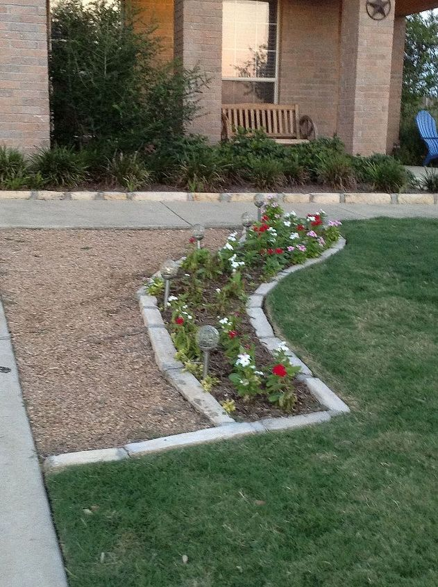 Front Yard - To the Right of Driveway - Extra Walking Space & little flower bed