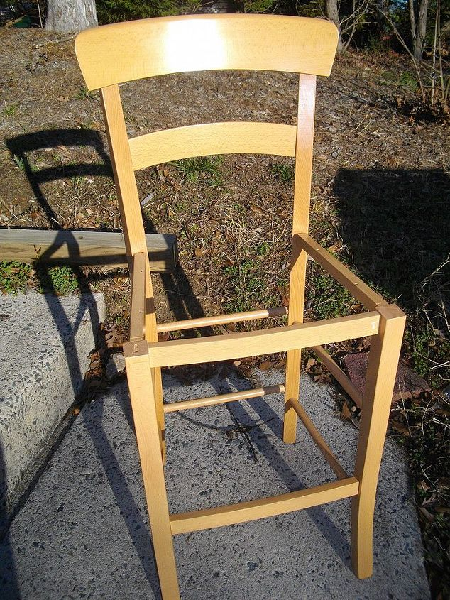 counterstools before and after, painted furniture, shabby chic, Counterstool before