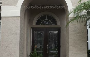 how changing my front doors changed my house, curb appeal, doors, after