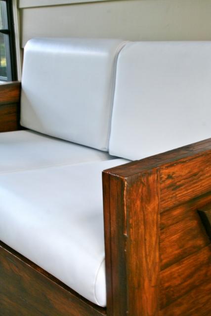 furniture spray paintSpray Painting Vinyl Cushions  Hometalk