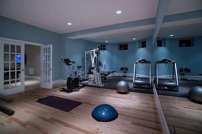 hi hometalkers check out my album of bonus rooms it s that one spare room in the, home decor, Exercise room Good spacing of equipment for nice flow Posted by Rule4 Building Group