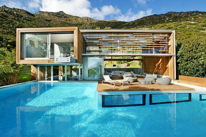 awesome spa house by metropolis design, architecture, home decor, outdoor living, pool designs, spas