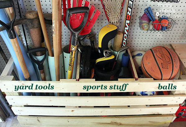 Tool, yard and sport corral